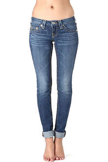 TRUE RELIGION Stella skinny low-rise jeans