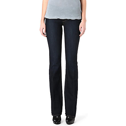 PAIGE DENIM Skyline bootcut mid-rise jeans (Fountain