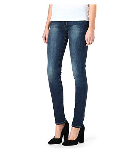 PAIGE DENIM Skyline skinny mid-rise jeans (Ravine