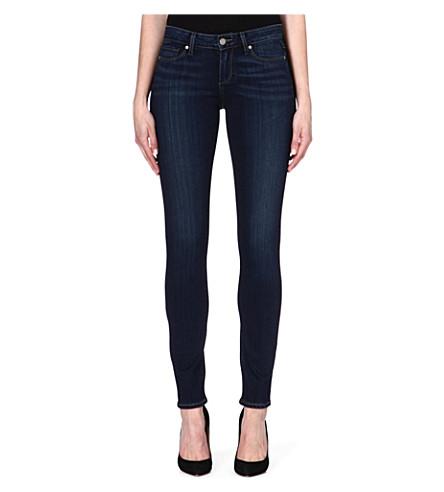 PAIGE DENIM Skyline skinny mid-rise jeans (Nottingham