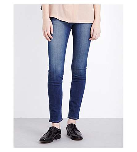 PAIGE DENIM Skyline skinny mid-rise jeans (Easton