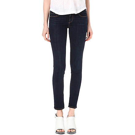 PAIGE DENIM Skyline Ankle Peg mid-rise jeans (Delancy