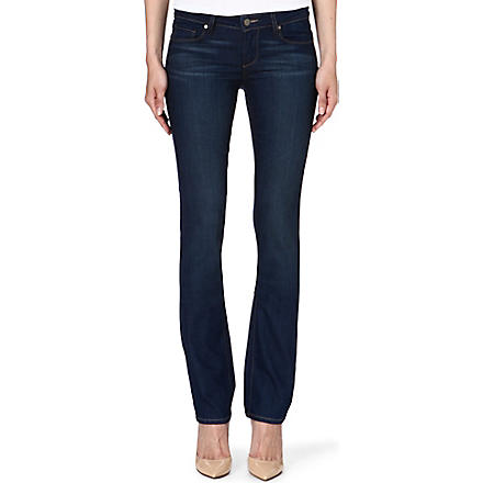 PAIGE DENIM Skyline straight-leg mid-rise jeans (Finlay