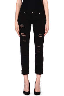 PAIGE DENIM Jimmy Jimmy slim-fit boyfriend mid-rise jeans