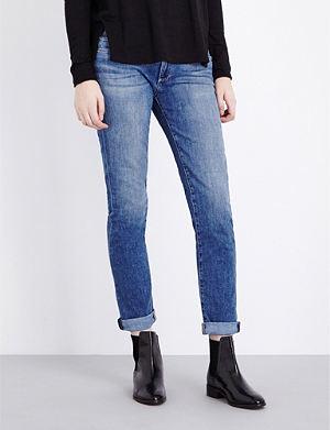 PAIGE DENIM Jimmy Jimmy skinny boyfriend mid-rise jeans