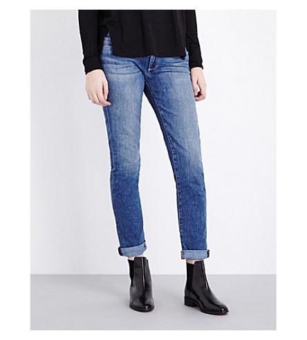 PAIGE DENIM Jimmy Jimmy skinny boyfriend mid-rise jeans (Tigerlily