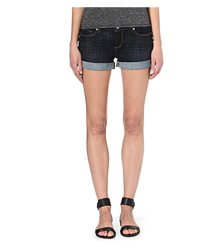 PAIGE DENIM Jimmy Jimmy denim shorts (Dean