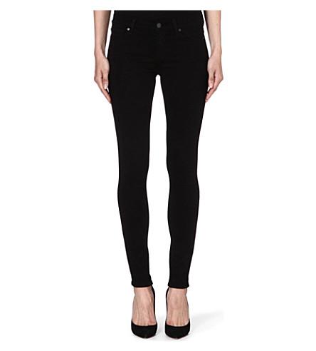 PAIGE DENIM Verdugo skinny mid-rise jeans (Blkdhlia