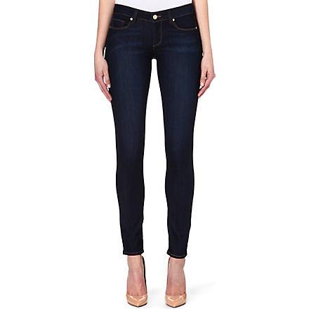 PAIGE DENIM Manhattan bootcut mid-rise jeans (Carson