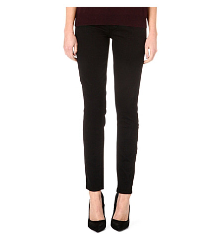 PAIGE DENIM Hoxton skinny high-rise jeans (Gloss