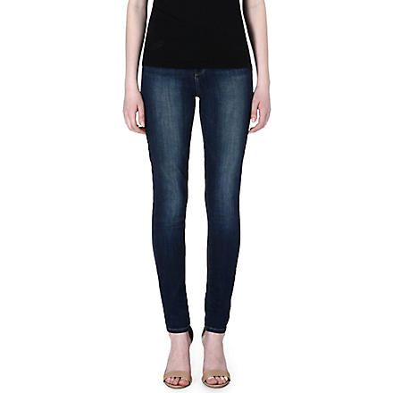 PAIGE DENIM Hoxton ultra-skinny high-rise jeans (Benny