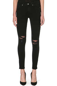 PAIGE DENIM Hoxton skinny mid-rise jeans