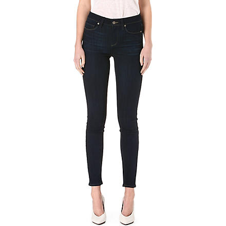 PAIGE DENIM Hoxton ultra-skinny high-rise jeans (Ashbury