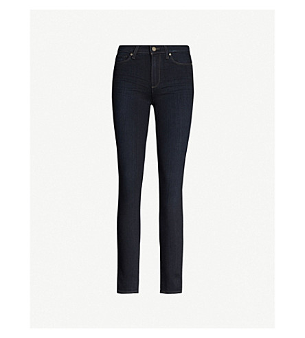 PAIGE Hoxton skinny high-rise jeans (Mona