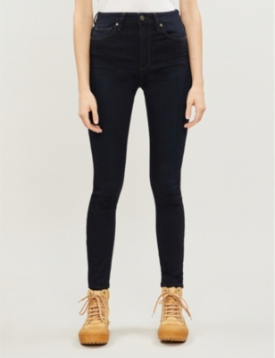 Hoxton skinny high-rise jeans