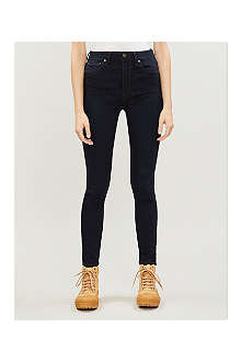 PAIGE DENIM Hoxton skinny high-rise jeans