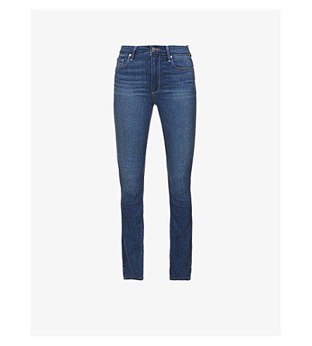 PAIGE Hoxton skinny high-rise jeans (Tristan