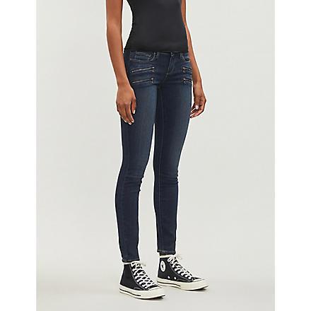 PAIGE DENIM Edgemont skinny mid-rise jeans (Nottingham