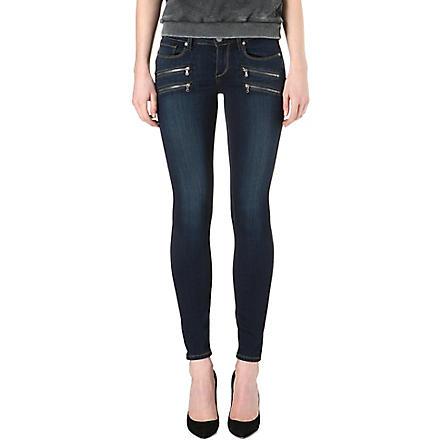 PAIGE DENIM Edgemont skinny mid-rise jeans (Transcend