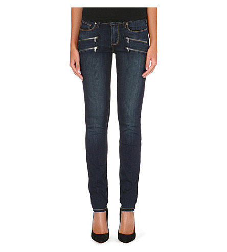 PAIGE Edgemont skinny mid-rise jeans (Armstrong