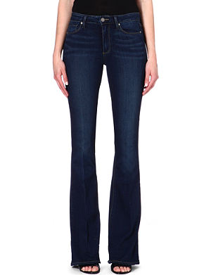 PAIGE DENIM Bell Canyon high-rise flared jeans