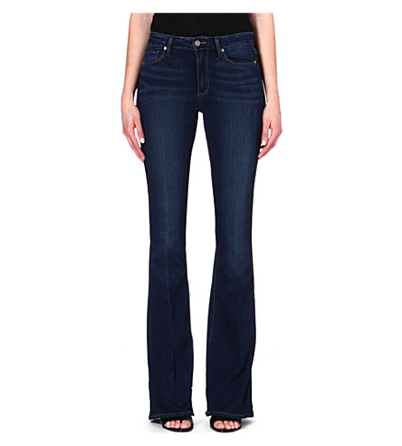 PAIGE DENIM Bell Canyon flared high-rise jeans (Nottingham