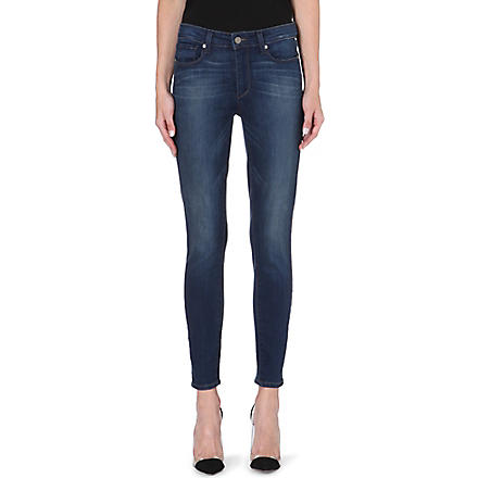 PAIGE DENIM Hoxton skinny high-rise jeans (Zoe