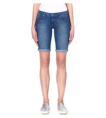 PAIGE DENIM Jax denim knee shorts (Ventura