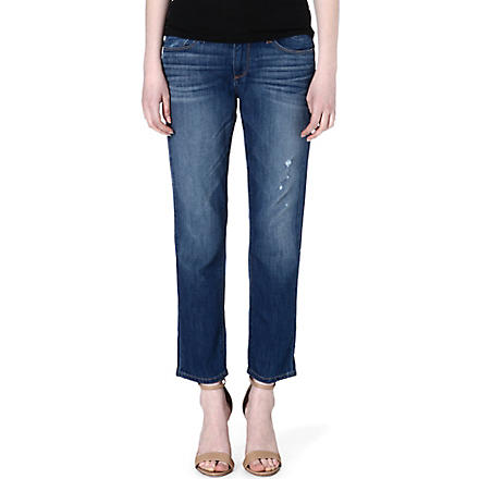 PAIGE DENIM Aero James cropped boyfriend mid-rise jeans (Aero