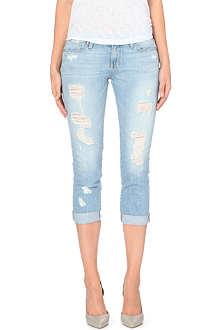 PAIGE DENIM Jimmy Jimmy cropped boyfriend mid-rise jeans