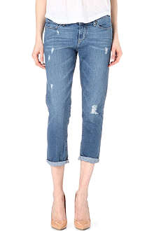 PAIGE DENIM Jimmy Jimmy cropped boyfriend jeans