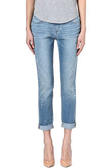 PAIGE DENIM Tyler high-rise boyfriend jeans