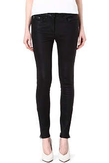 PAIGE DENIM Daphne leather trousers