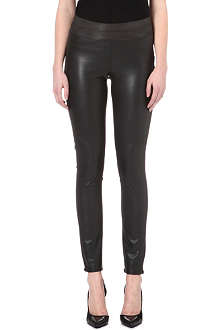 PAIGE DENIM Paloma faux-leather leggings