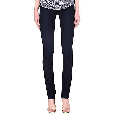 PAIGE DENIM Hoxton straight high-rise jeans (Kelly