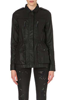 PAIGE DENIM Cartwright coated-cotton anorak