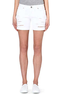 PAIGE DENIM Grant destructed shorts