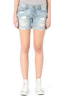 PAIGE DENIM Grant denim shorts