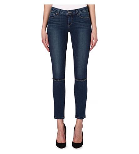 PAIGE DENIM Skyline skinny mid-rise jeans (Abbott