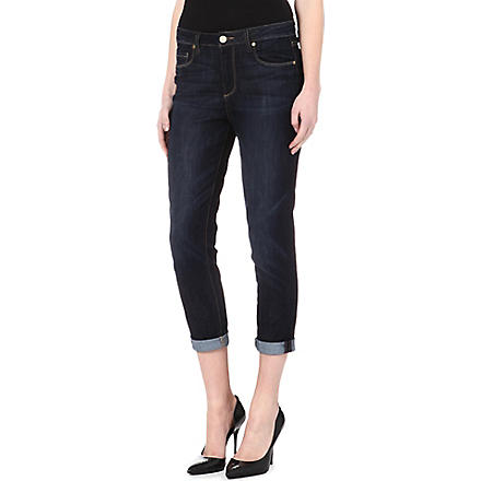 PAIGE DENIM Callie boyfriend high-rise jeans (Dean