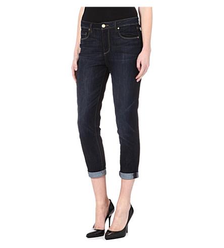 PAIGE DENIM Callie boyfriend high-rise jeans (Dean