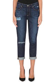 PAIGE DENIM Callie boyfriend high-rise jeans