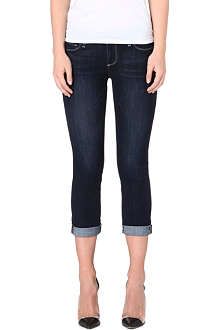 PAIGE DENIM Abbot Kinney cropped skinny mid-rise jeans