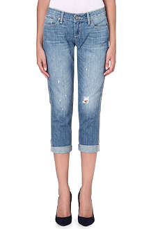 PAIGE DENIM Jimmy Jimmy cropped skinny boyfriend jeans