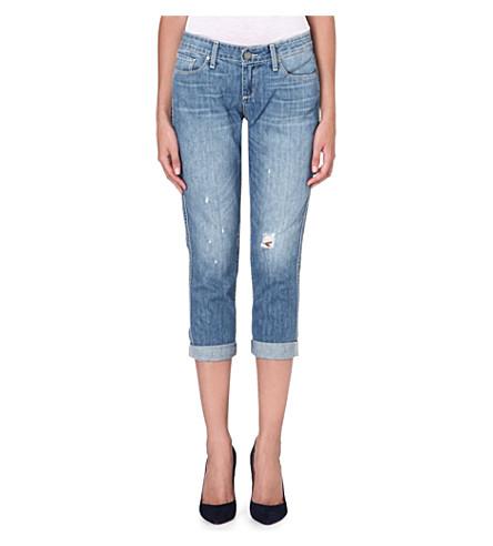 PAIGE DENIM Jimmy Jimmy cropped skinny boyfriend jeans (Sunbaked