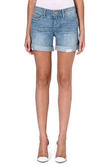 PAIGE DENIM Grant denim boyfriend shorts