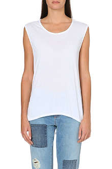 PAIGE DENIM Gracelyn jersey top