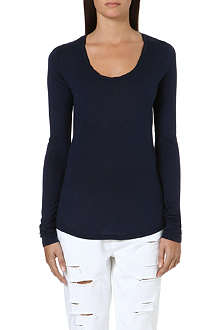 PAIGE DENIM Mona long-sleeved top