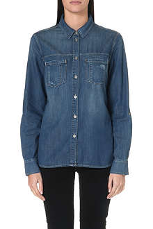 PAIGE DENIM Beckett denim shirt