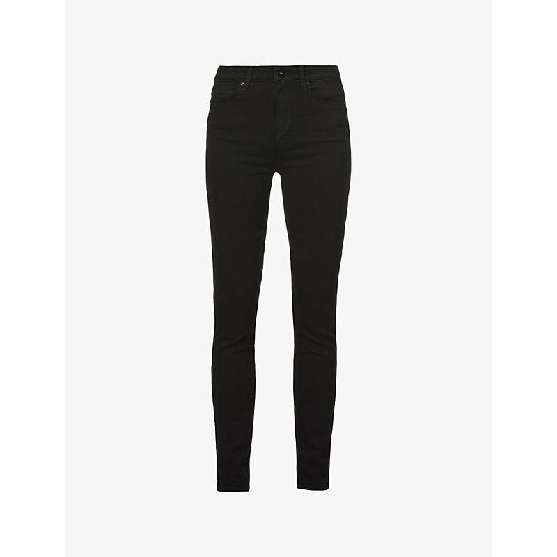 PAIGE | Paige Denim Margot Ultra-Skinny High-Rise Jeans, Women'S, Size: 27, Black Shadow | Goxip